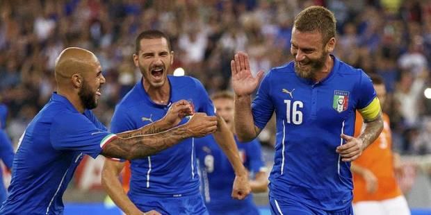 L'Italie sans pitié face aux Pays-Bas (2-0) - La DH