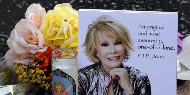 Des obsèques de star pour la drôlissime Joan Rivers - La DH