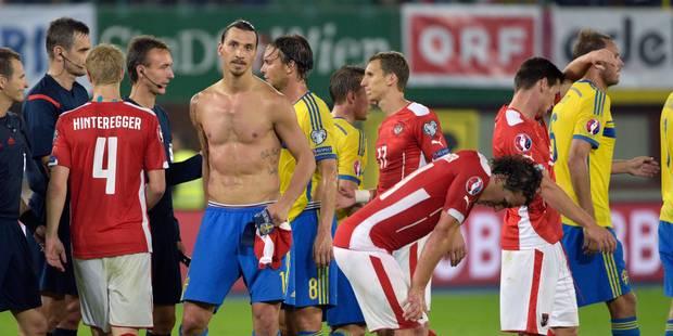 Une passe décisive, un coup de coude, un regard noir : voici la 100e de Zlatan Ibrahimovic - La DH