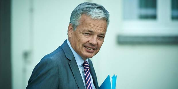 Didier Reynders favorable à une participation à une coalition en Irak - La DH
