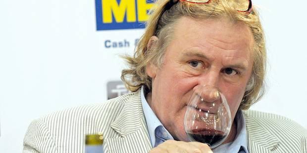 """Depardieu: """"14 bouteilles d'alcool par jour ? Pas de problème !"""" - La DH"""
