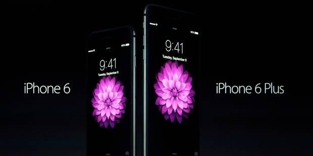 Plus de 4 millions d'exemplaires de l'iPhone 6 commandés en 24H - La DH