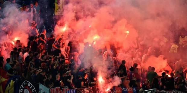 2 supporters du CSKA hospitalisés - La DH