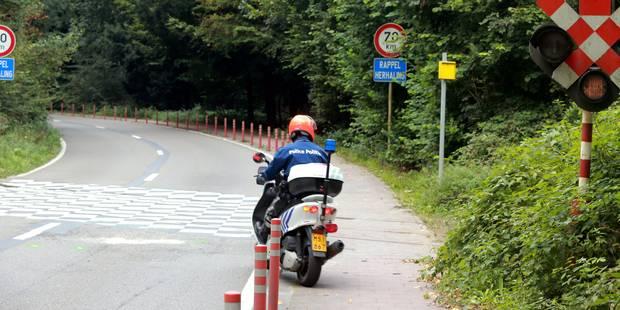 Carrefour des Quatre bras: Un motard blessé dans une collision avec un tram - La DH