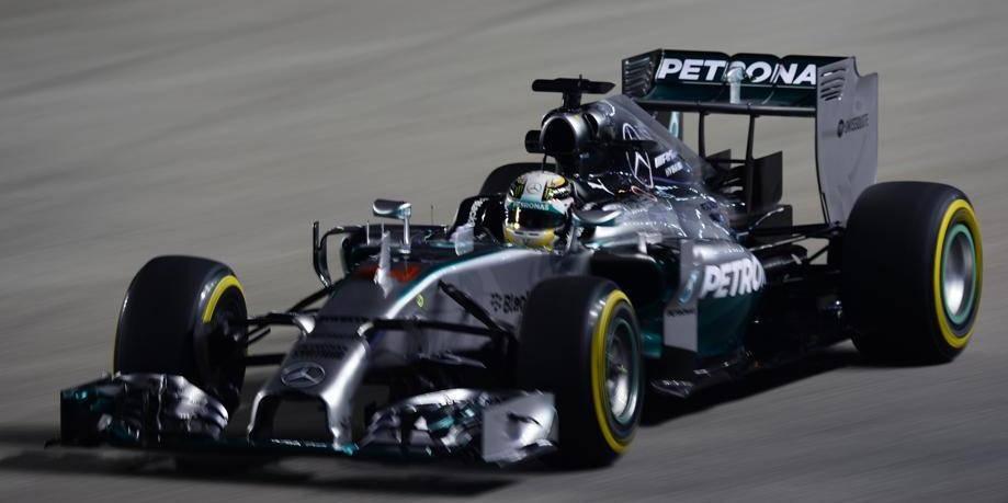 GP de Singapour: Hamilton meilleur temps des essais libres 2