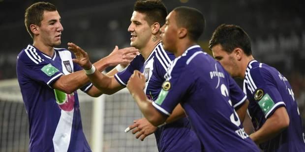Anderlecht galvaude et se fait peur face au Cercle (3-2)