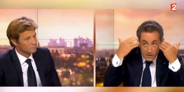 Laurent Delahousse vivement chahuté par Nicolas Sarkozy - La DH