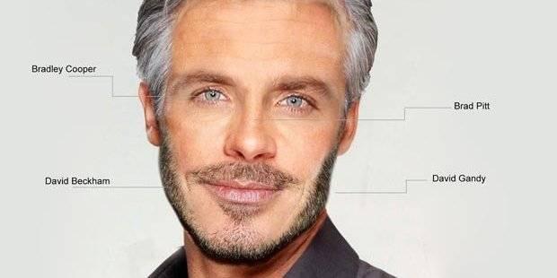 A quoi ressemble le visage de l'homme idéal?