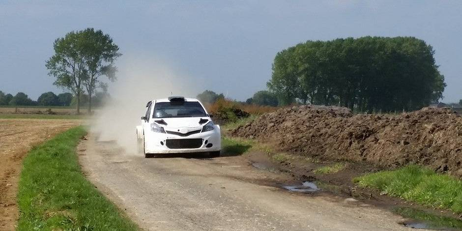 Exclusif: Toyota teste sa nouvelle WRC en Belgique