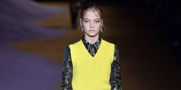 14 ans et déjà sur le podium de la Fashion Week - La DH