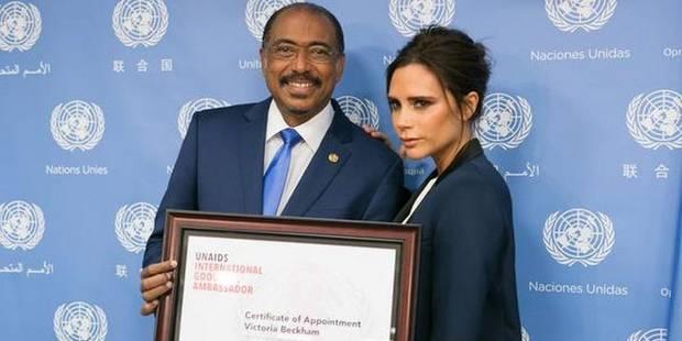 Victoria Beckham devient ambassadrice de l'ONU sur le sida - La DH