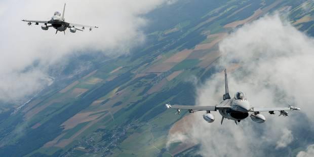 Irak/Syrie: Les F-16 belges se sont envolés pour la Grèce - La DH