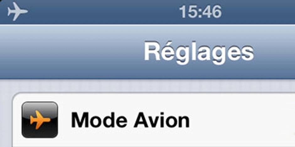 Ce que vous pouvez maintenant faire avec votre téléphone dans un avion