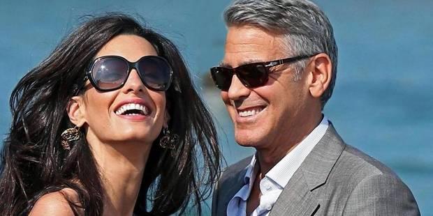 George Clooney et Amal Alamuddin se sont dit oui - La DH
