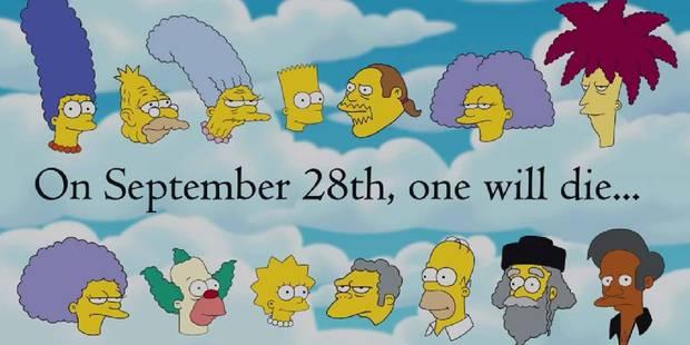 Un personnage des Simpson a perdu la vie dans l'épisode de ce dimanche - La DH