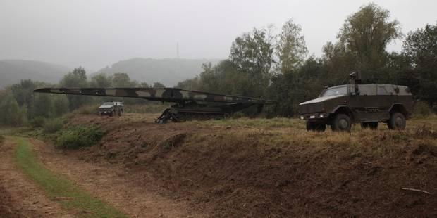 L'armée va installer un pont provisoire à Ittre - La DH