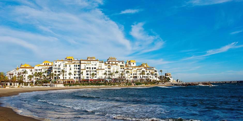 Puerto Banus, Luxury Port In Marbella, Costa Del Sol, Andalucia, Spain