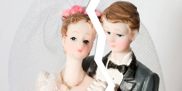Le nombre de divorces en Belgique continue de diminuer - La DH