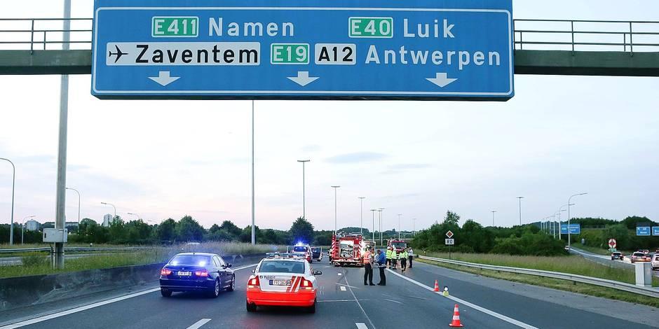 Grève des P.-V. sur les autoroutes belges - La DH