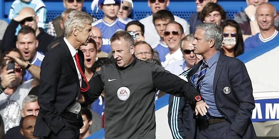 Wenger et Mourinho à deux doigts de se battre