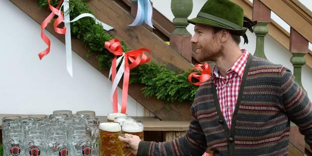 Les joueurs du Bayern Munich à la Fête de la bière - La DH