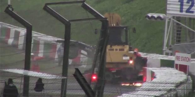 Bianchi: Découvrez la première vidéo du crash