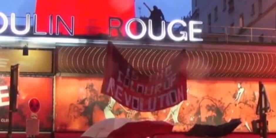 Deux Femen à l'assaut du Moulin Rouge