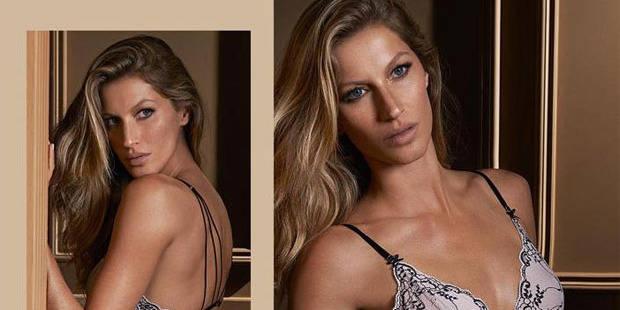 Gisele Bündchen promeut sa propre marque de lingerie - La DH