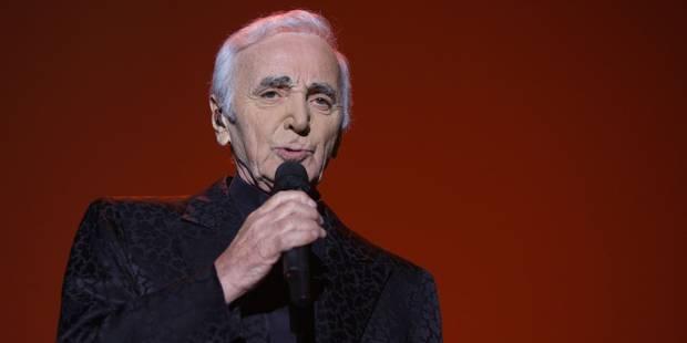 Aznavour hospitalisé - La DH