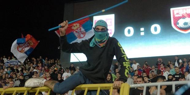 """Incidents lors de Serbie-Albanie: """"Faites voler un drapeau russe à Kiev et vous verrez..."""" - La DH"""