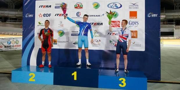 Euro de cyclisme sur piste: Otto Vergaerde et Kelly Druyts offrent deux médailles à la Belgique - La DH
