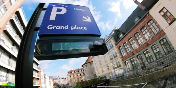 Tournai: Rabais sur le parking Grand'Place - La DH