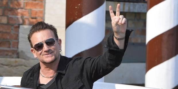 Voici pourquoi Bono ne quitte jamais ses lunettes de soleil - La DH