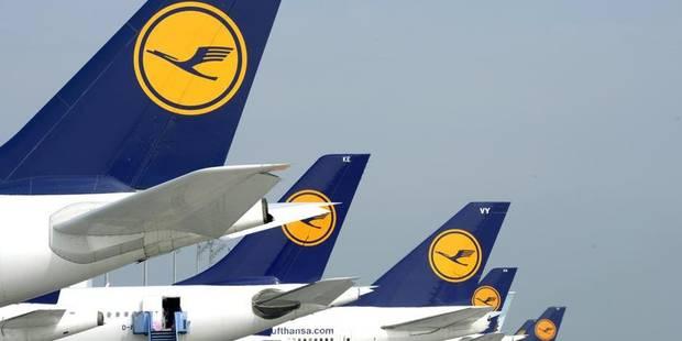 Grève à la Lufthansa: perturbation à Brussels Airport - La DH