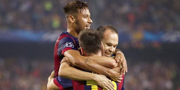 Groupe F: le Barça en plante 3 à l'Ajax (3-1), service minimum pour le PSG à Nicosie (0-1) - La DH