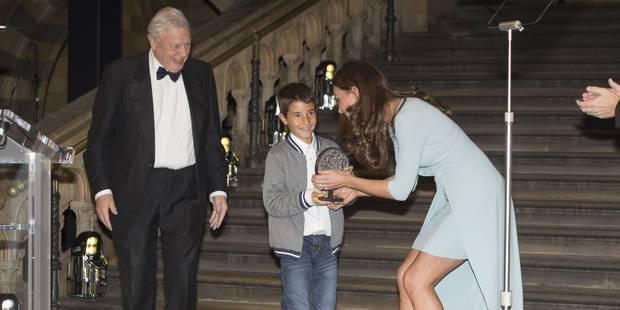 Kate Middleton ose la robe très courte - La DH