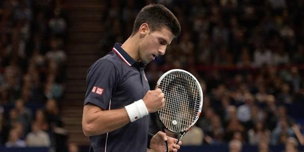 Paris-Bercy: Djokovic passe sans problème le premier obstacle - La DH