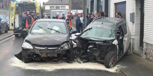 Collision frontale : trois blessés à Souvret - La DH