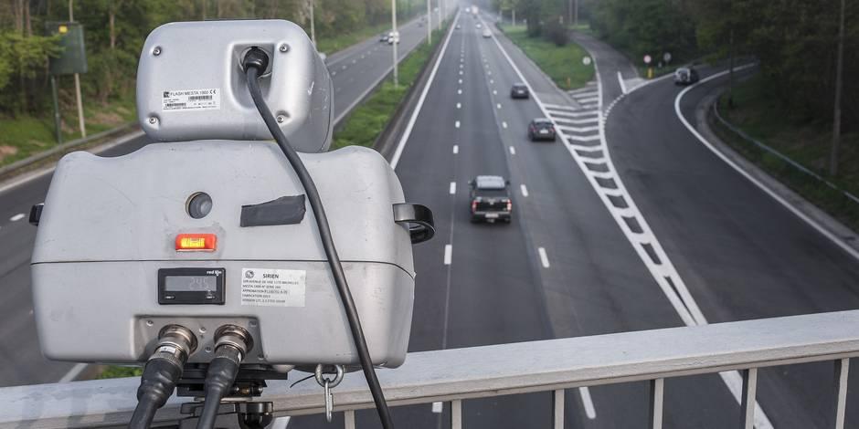 encore plus de radars sur les autoroutes wallonnes la dh. Black Bedroom Furniture Sets. Home Design Ideas