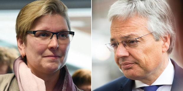 """Elke Sleurs (N-VA): """"Didier Reynders ne parle que pour lui-même"""" - La DH"""