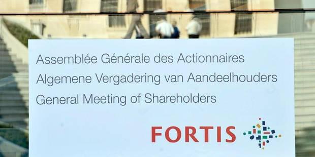 Plus de la moitié des actionnaires de Fortis déboutés du procès en cours - La DH