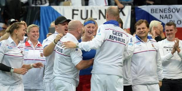 Fed Cup: la Tchèquie remporte son 3e titre en 4 ans - La DH