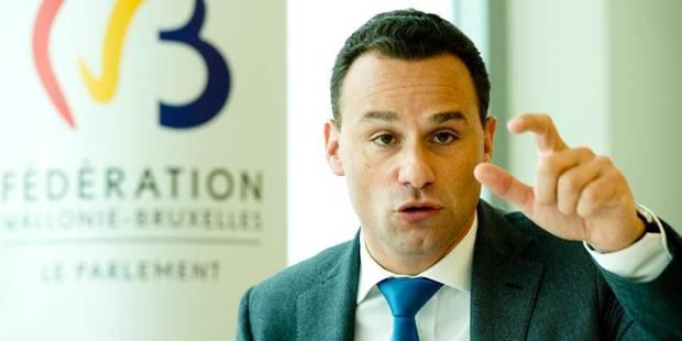 Luperto démissionne de sa fonction de président du Parlement de la Fédération Wallonie-Bruxelles - La DH