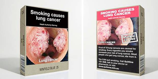 """Le paquet de cigarettes """"neutre"""" fait ses preuves - La DH"""