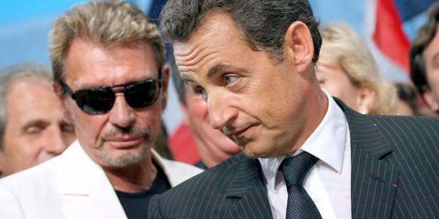 Même Johnny lâche Sarkozy - La DH
