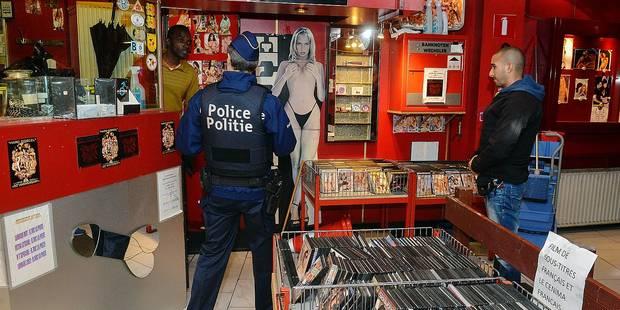 40 policiers dans le quartier des prostituées - La DH
