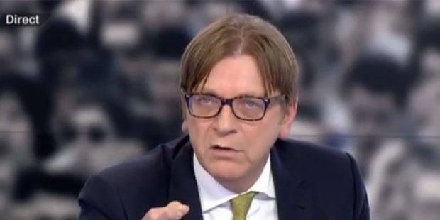 Verhofstadt taille Mélenchon et Guaino sur France 2 - La DH