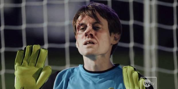 Ce gardien a arr�t� cinq penalties de suite avec� son visage!