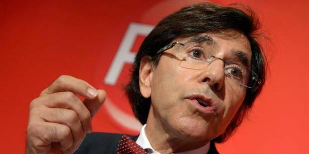 Elio Di Rupo réélu à la présidence du PS - La DH