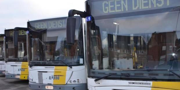 De Lijn a perdu 314.000 euros depuis 2012 en raison des grèves - La DH